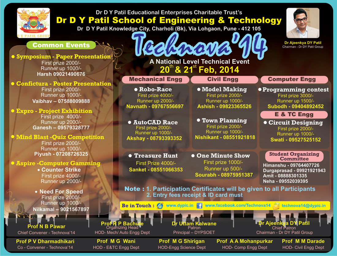 Poster design for technical events - Gallery Of Poster Design For Technical Events